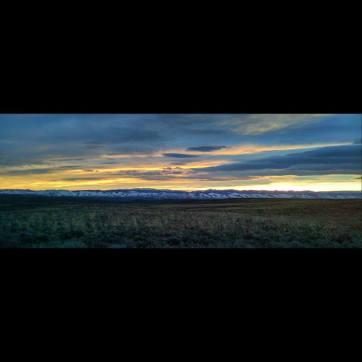 The sunrises were amazing